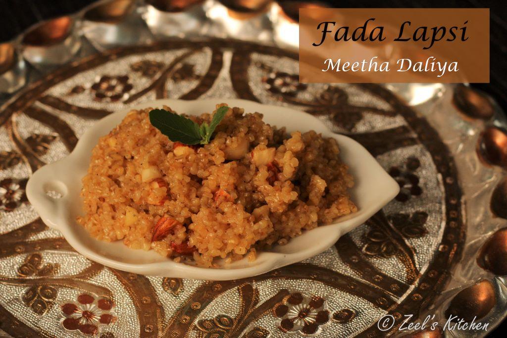 Fada Lapsi   Meetha Daliya   Broken Wheat dessert   Daliya Sheera Recipe