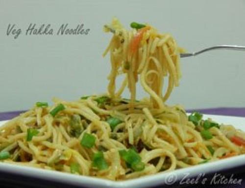 Veg Hakka Noodles