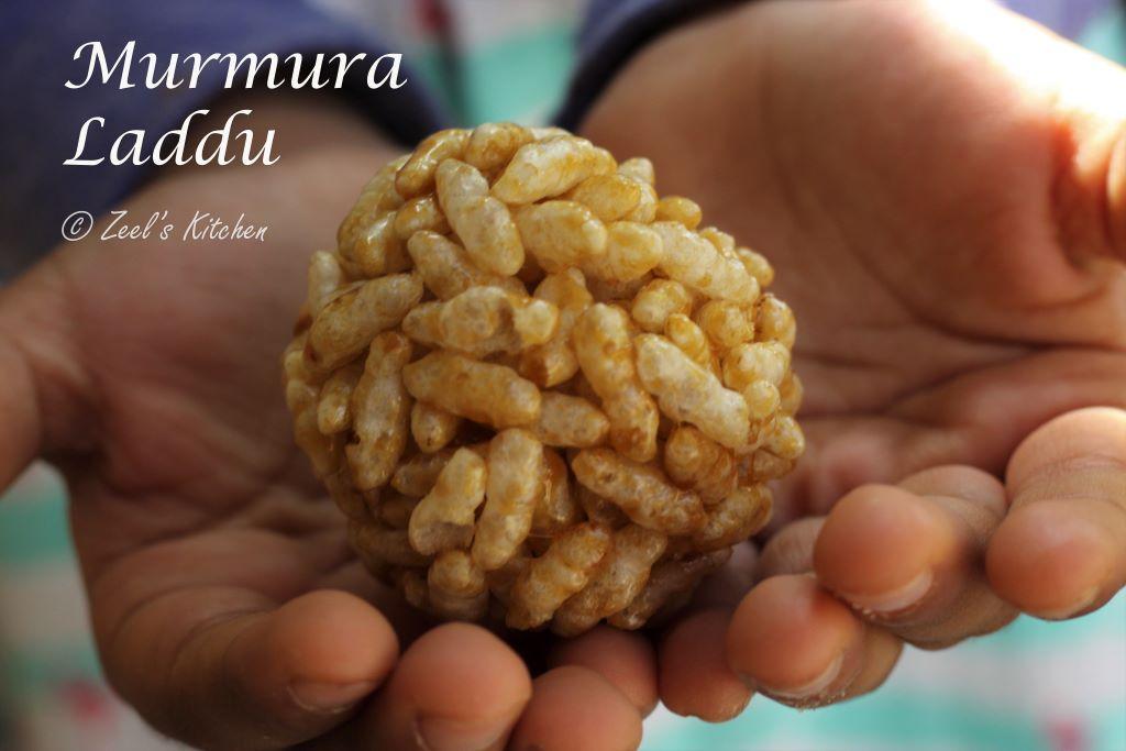 Murmura Laddu | Mamra na Ladu | Puffed Rice Sweet Balls Recipe