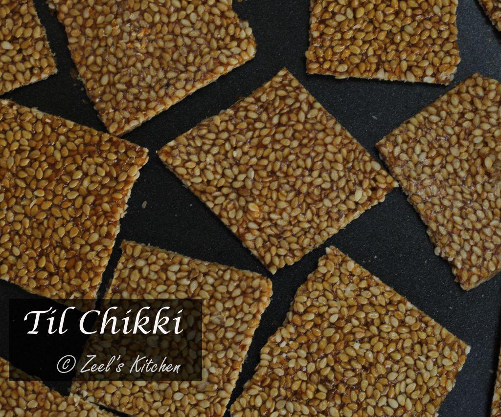 Til Chikki | Sesame Jaggery Brittle | Healthy Sesame Crackers Recipe | Zeel's Kitchen