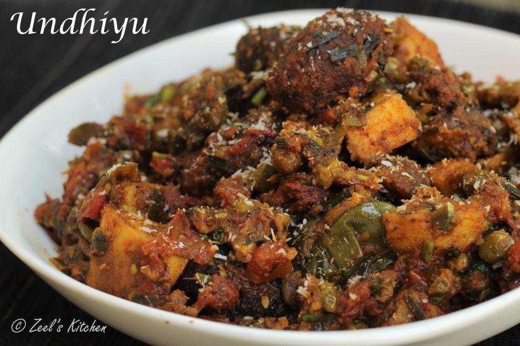 Undhiyu Recipe | Traditional Gujarati Undhiyu Recipe | Gujarati Winter special Mix Vegetable Casserole Recipe