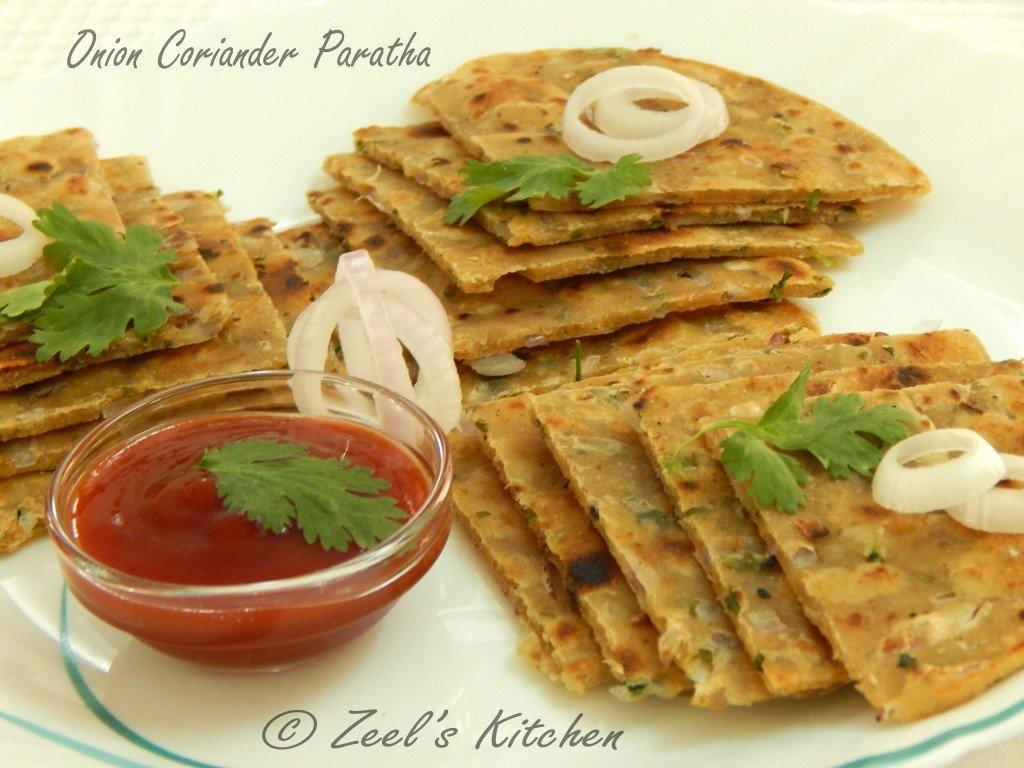 Onion Coriander Paratha