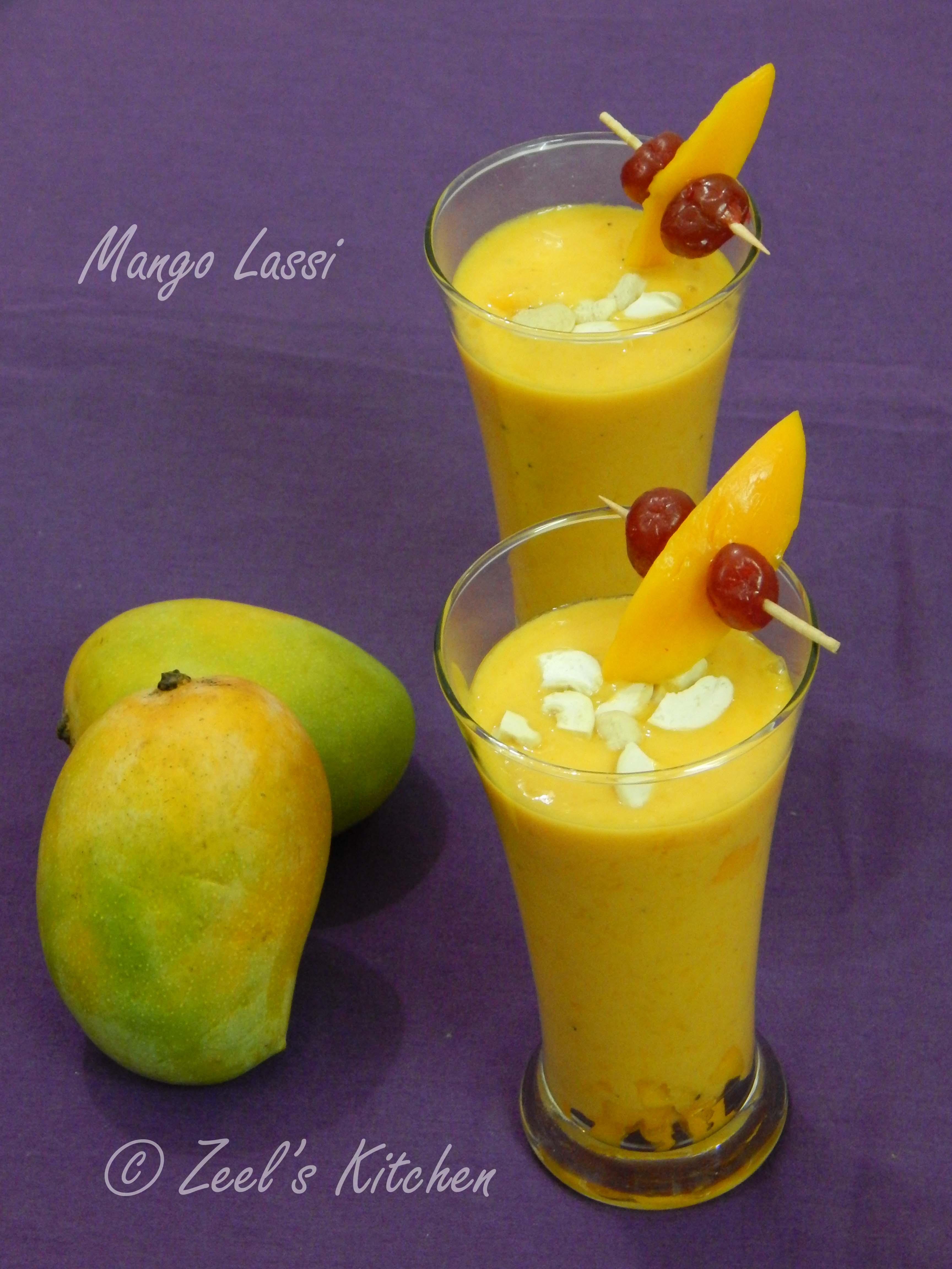 mango lassi mango lassi recipe zeel amp  s kitchen