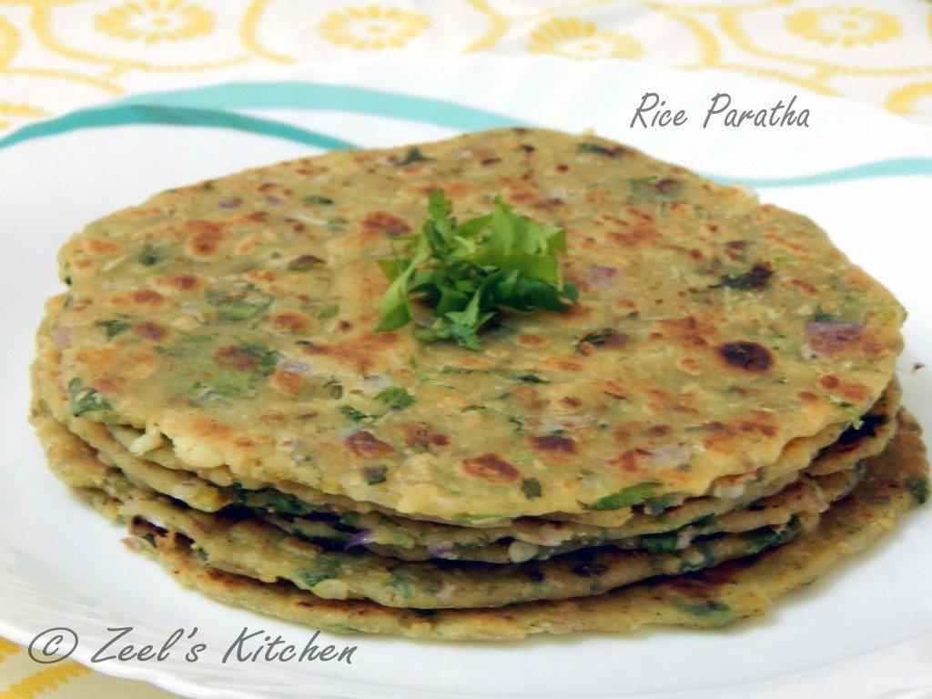 Rice Paratha