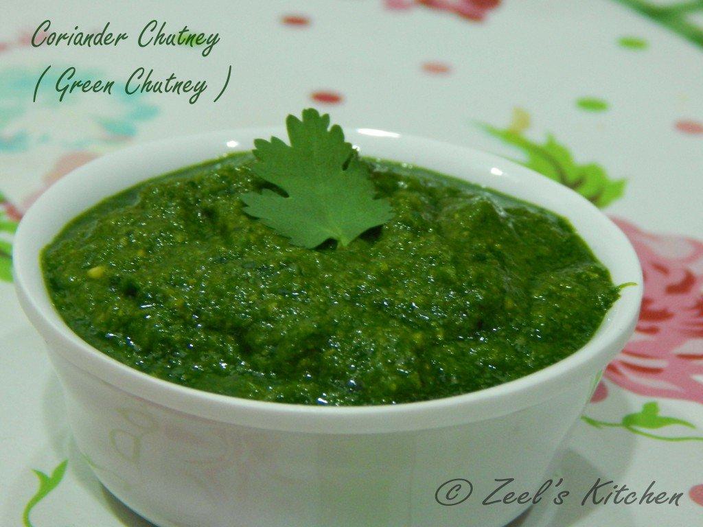 Coriander Chutney (Green Chutney)