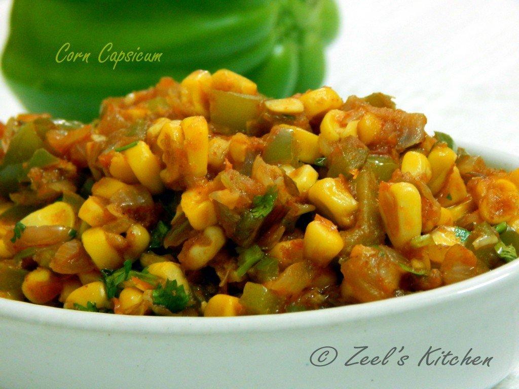 Corn Capsicum