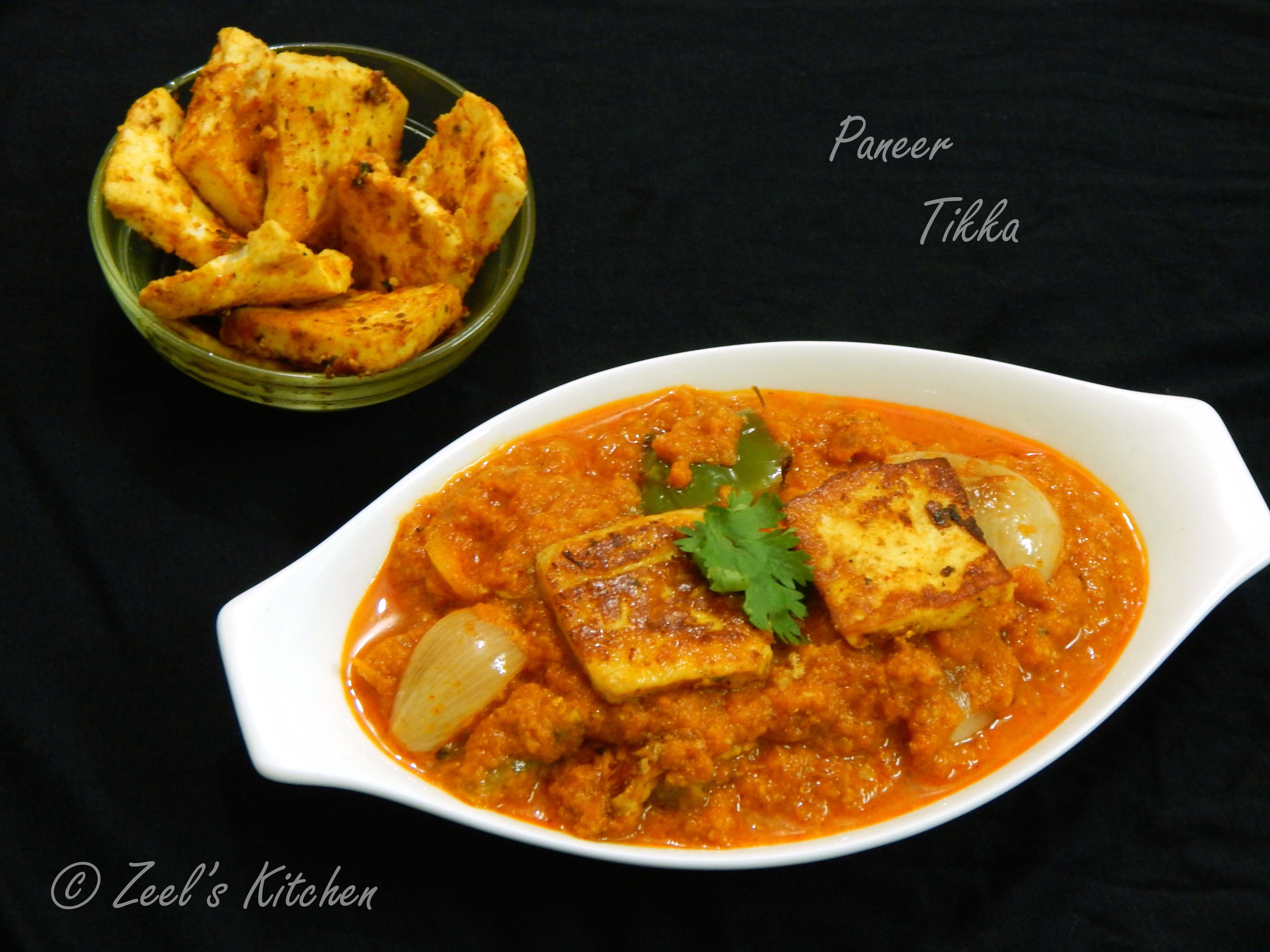 Paneer Tikka Masala Recipe | Zeel's Kitchen