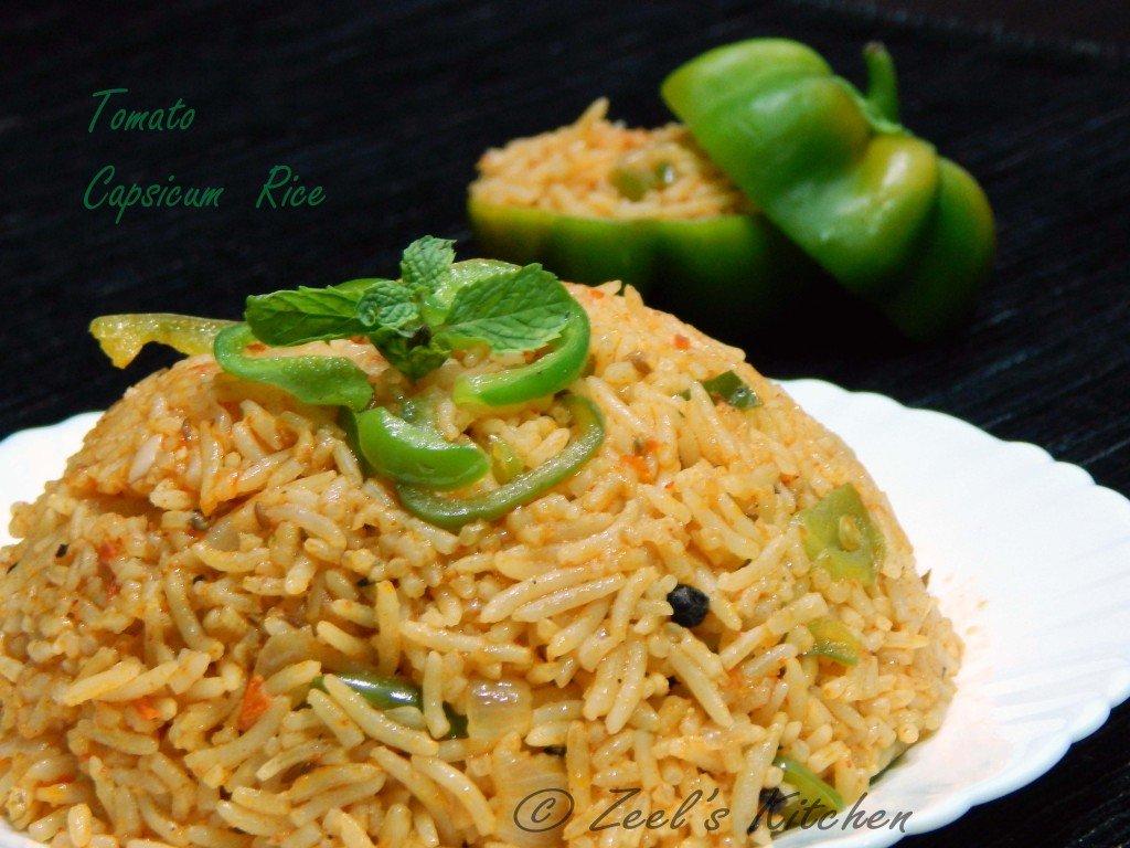 Tomato Capsicum Rice