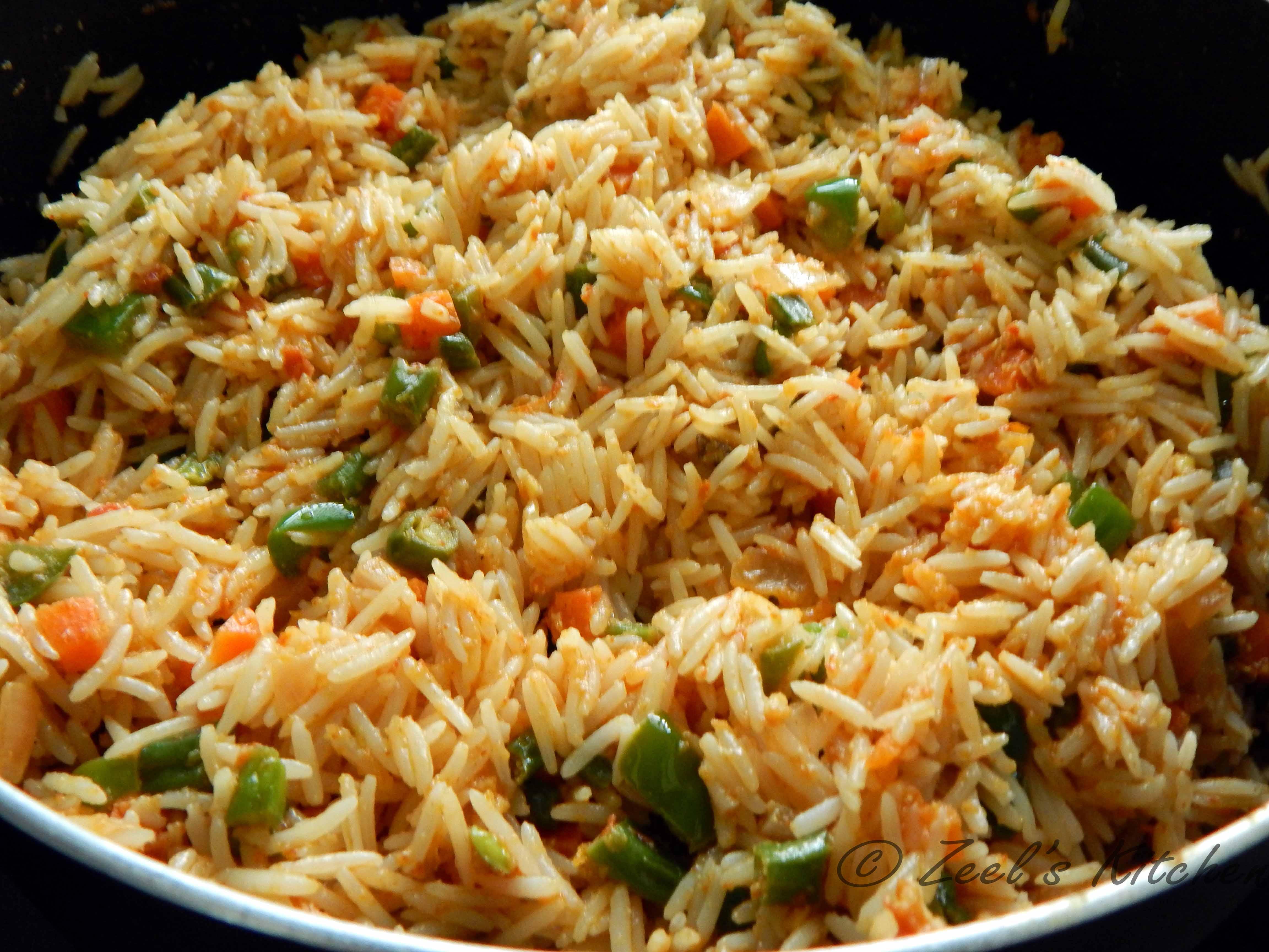 Vegetable Biryani ( Veg Biryani ) Recipe | Zeel's Kitchen