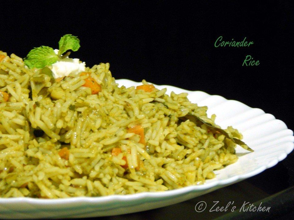 coriander_rice
