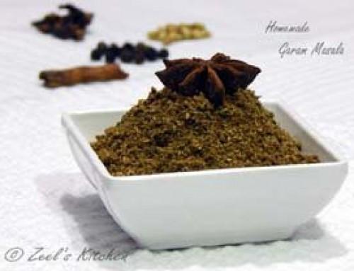 Homemade Garam Masala ( Dal – Shak no masalo )