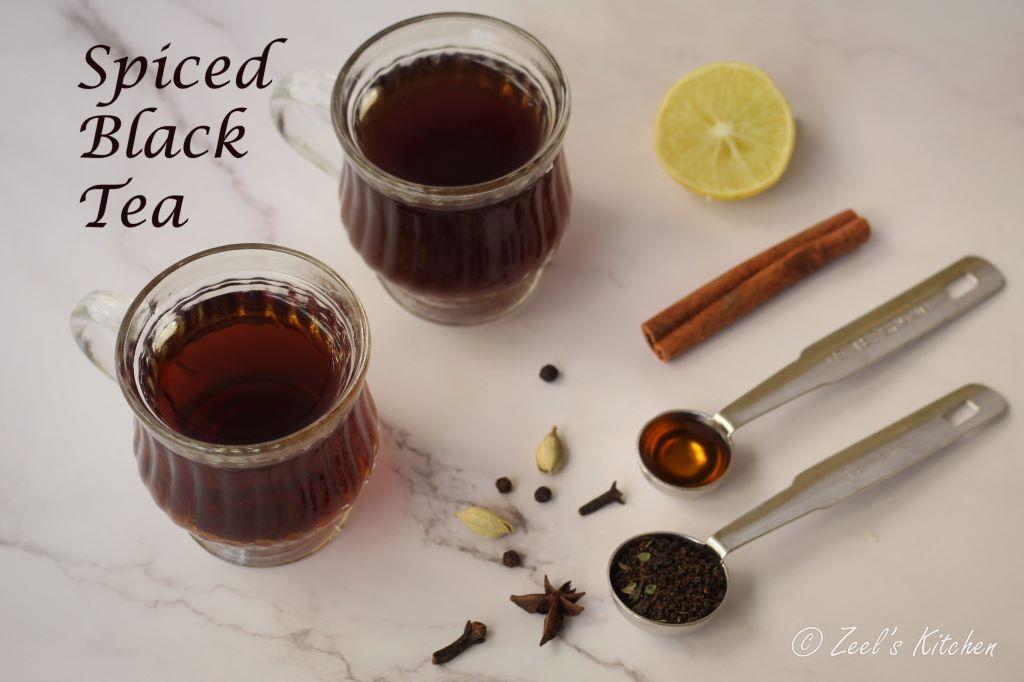 spiced black tea | spiced black tea recipe