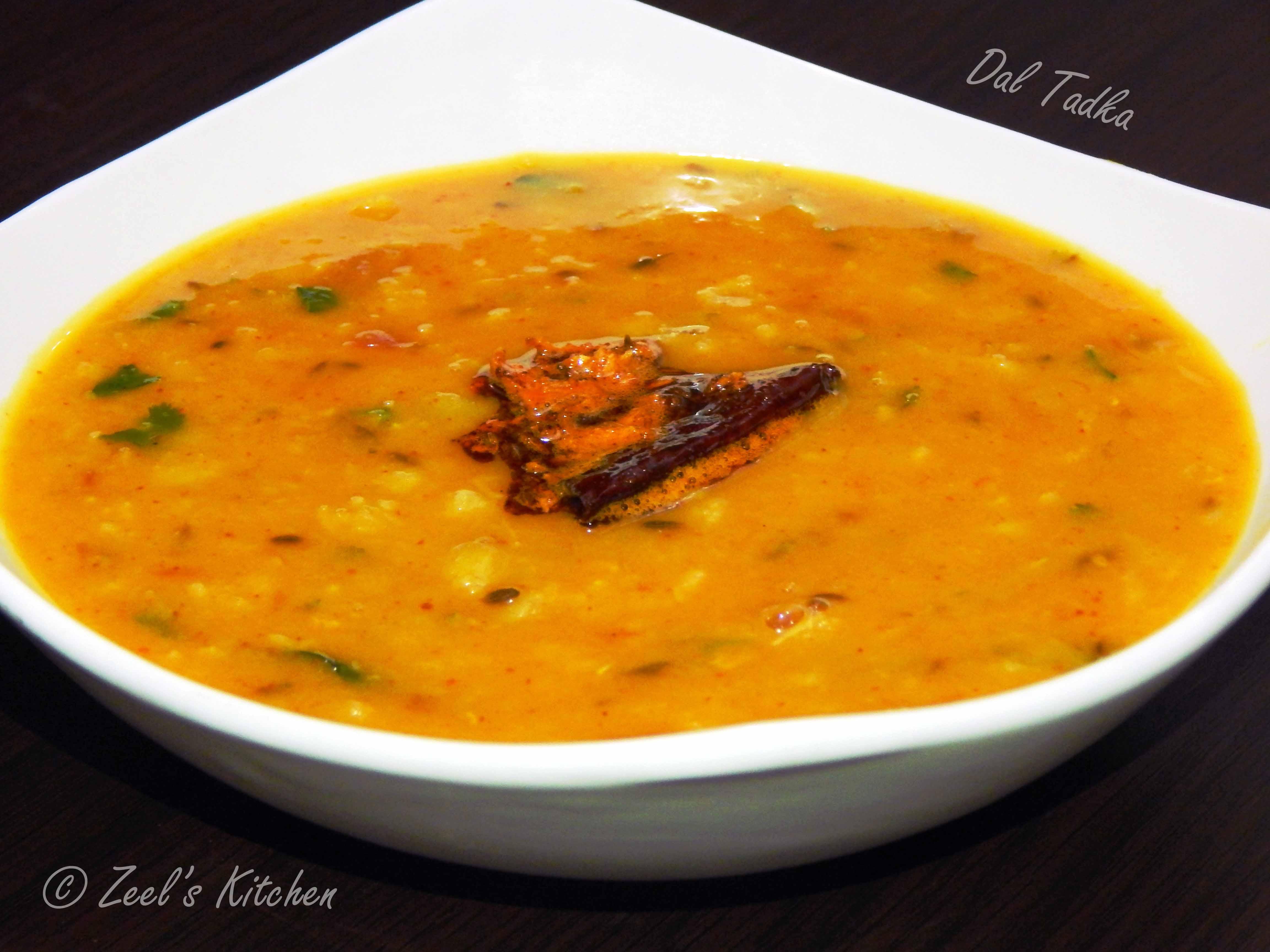 Dal Tadka | Dal Tadka Recipe | Zeel's Kitchen
