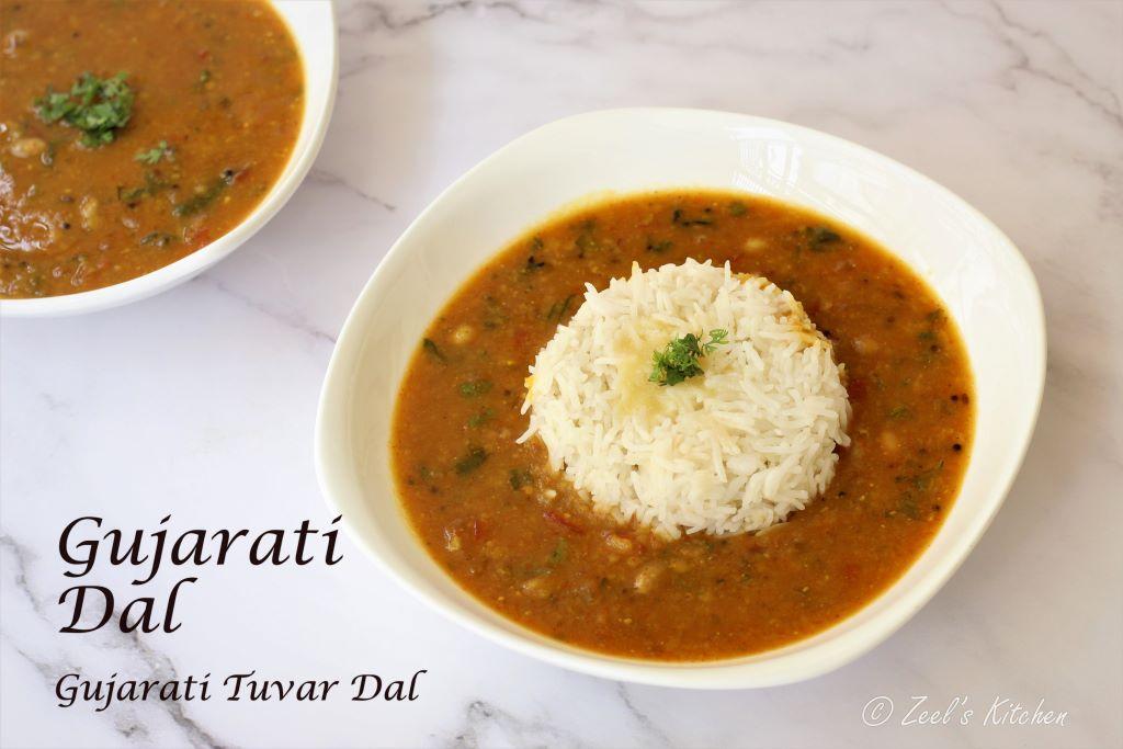 Gujarati Dal | Gujarati Tuvar Dal | Khatti Meethi Gujarati Dal