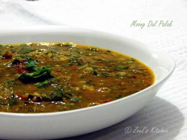 Moong Dal Palak