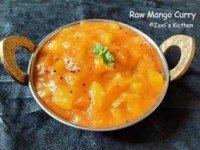 Raw Mango Curry Zeel' Kitchen