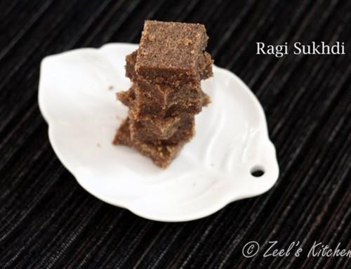 Ragi Sukhdi | Ragi Jaggery Bars