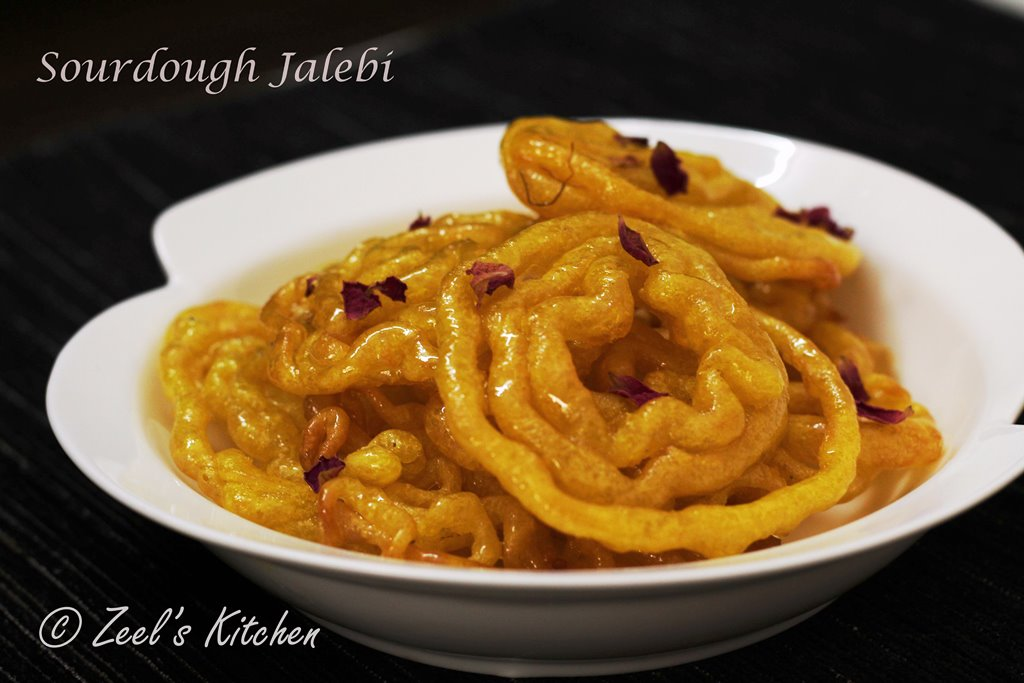 Sourdough Jalebi