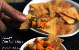 Baked Nacho Chips