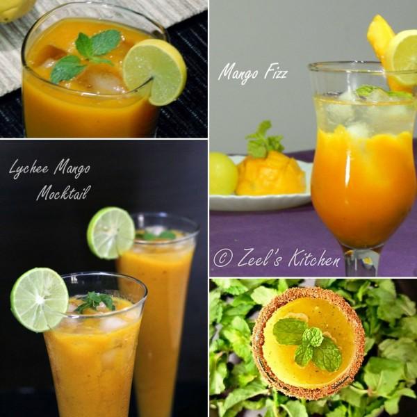 Fresh Mango Drinks