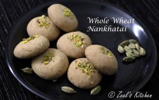 Whole wheat nankhatai Aata nankhatai