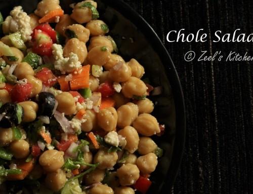 Chole Salad   Kabuli Chana Salad Recipe