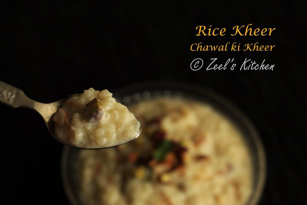 Rice Kheer | Ksheer | Chawal ki Kheer | Indian Rice Pudding Recipe