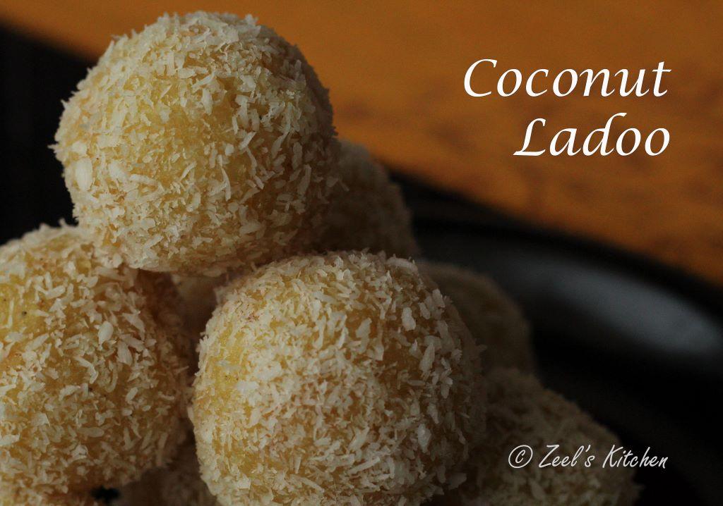 Instant Coconut Ladoo Recipe | Nariyal Ke Ladoo Recipe | Desiccated Coconut Laddoo Recipe