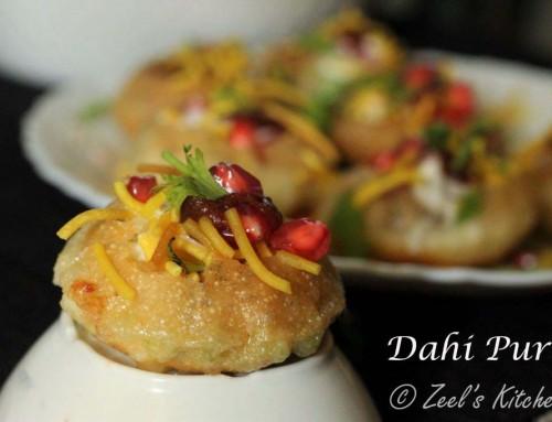Dahi Puri | Sev Potato Dahi Puri | SPDP Dahi Puri Recipe