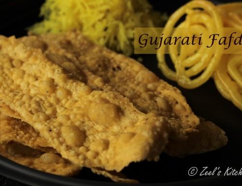 Gujarati Fafda Gathiya Recipe | How to make Fafda at home