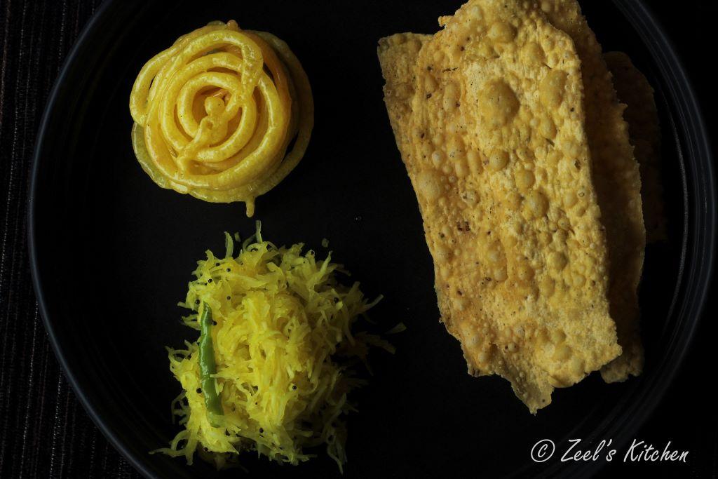 Dusshera Special Fafda, Jalebi & Sambharo