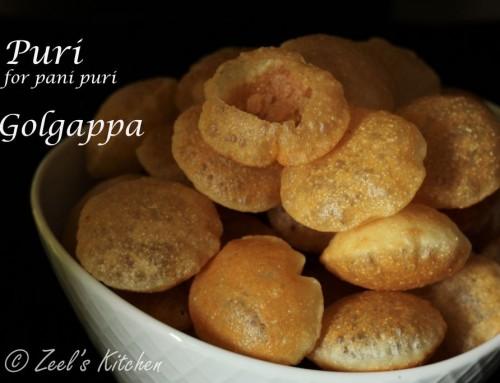 Puri for Panipuri Recipe
