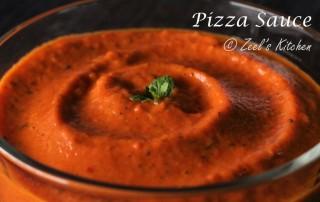 Homemade Pizza Sauce Recipe | Easy Pizza Sauce Recipe | Zeel's Kitchen