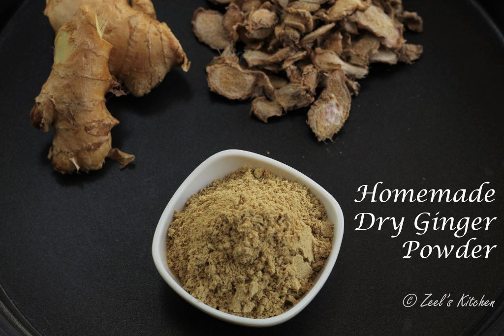 Homemade Dry Ginger Powder Recipe| How to make Sonth/Saunth Powder at Home?