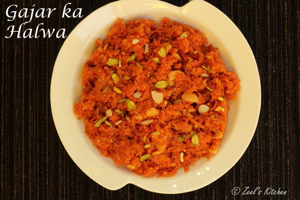 Gajar Ka Halwa | Carrot Halwa | Indian Carrot Pudding Recipe