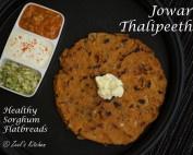 Jowar Thalipeeth Recipe | Healthy Sorghum Flatbread Recipe