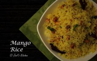 Mango Rice Recipe | Indian Raw Mango Rice | Kairi Bhat Recipe