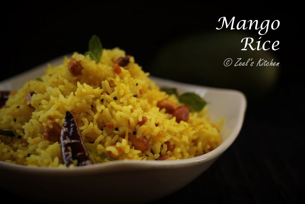 Mango Rice Recipe | Indian Raw Mango Rice | Kairi Bhat Recipe