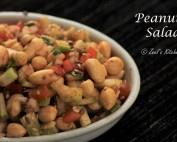 Peanut Salad Recipe | Soaked Peanut Salad | Healthy Weight-loss Peanut Salad