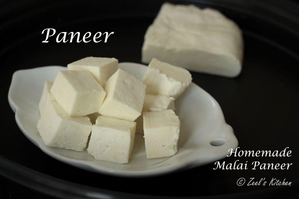 Paneer Recipe | Homemade Malai Paneer Recipe| Indian Cottage Cheese Recipe