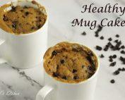 Healthy Mug Cake | Eggless Whole Wheat Jaggery Mug Cake