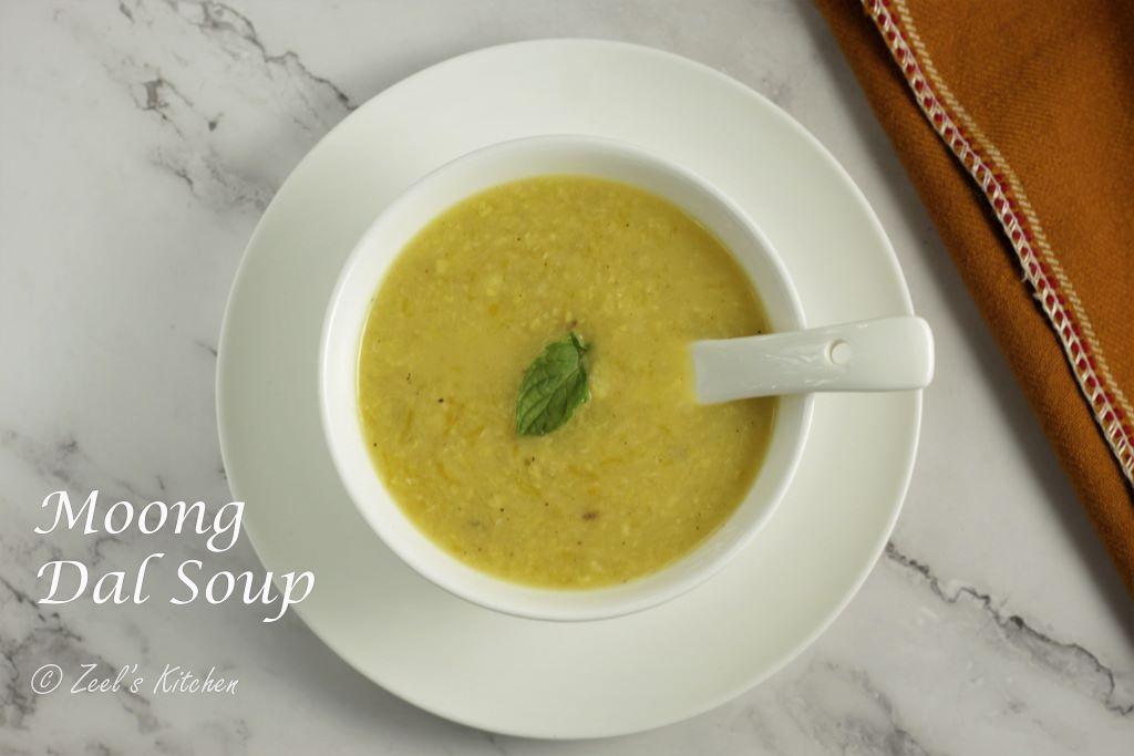 Moong Dal Soup | Healthy Moong Dal Soup Recipe | Satvik Moong Dal Soup
