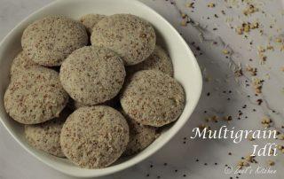 Multigrain Idli Recipe   Sorghum Ragi and Rice Idli Recipe