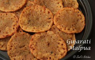 Gujarati Malpua Recipe   Whole wheat flour and Jaggery Malpua   Aate and gud ka Malpua   3-ingredients Malpua