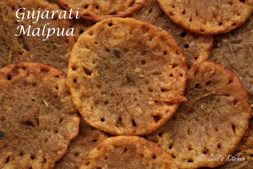 Gujarati Malpua Recipe | Whole wheat flour and Jaggery Malpua | Aate and gud ka Malpua | 3-ingredients Malpua