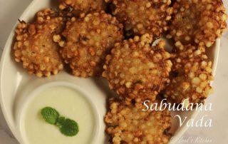 Sabudana Vada Recipe   Traditional Sabu Vada Recipe